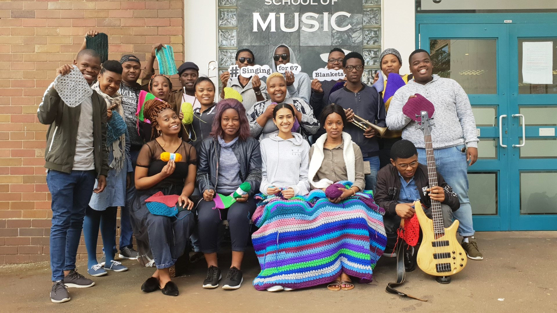 UKZN School of Arts hosts 'Singing for 67 Blankets' concert