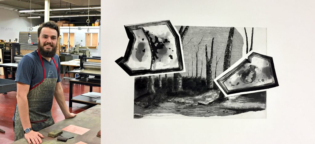 Fine Arts student to showcase innovative non-toxic etching practices