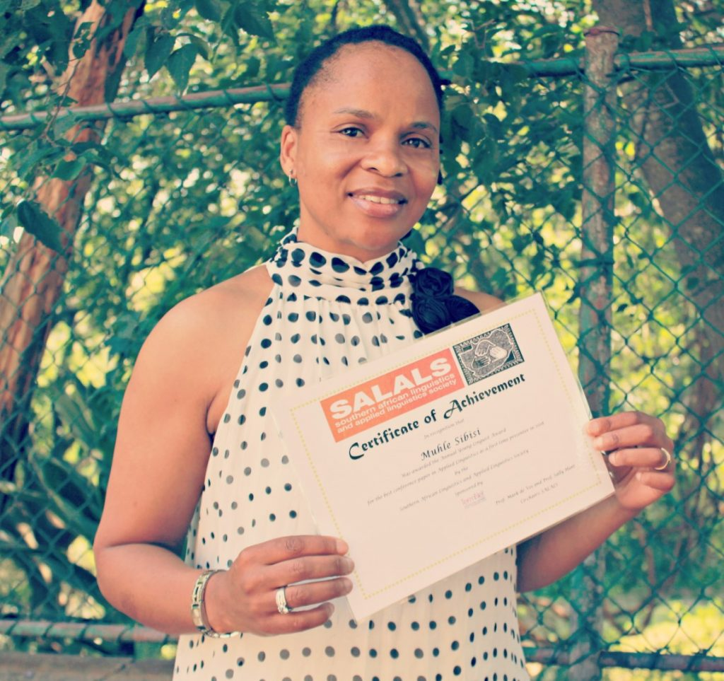 Lecturer wins Young Linguist Award