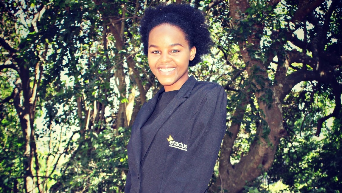 Ms Nkosingiphile Ntshangase, a Youth Ambassador for the United Nations Population Fund (UNFPA).