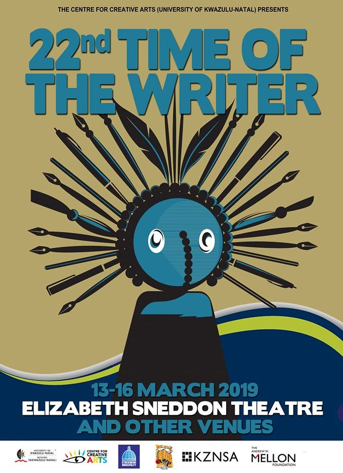 The 2019 Time of the Writer Festival takes place from 13 to 16 March.