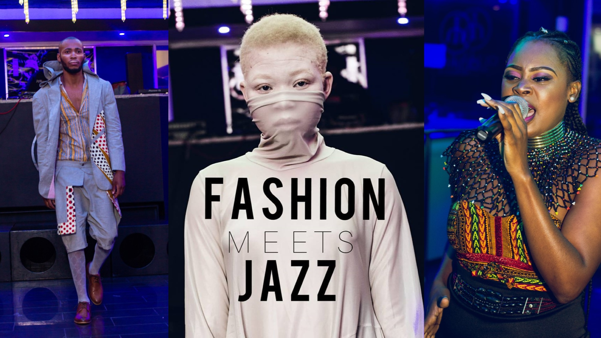 Music Student Behind Fashion Meets Jazz Show