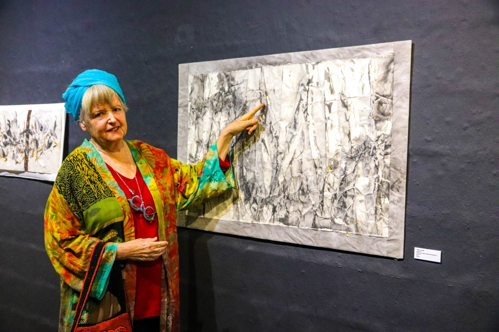 Masters Student Showcases First Solo Exhibition