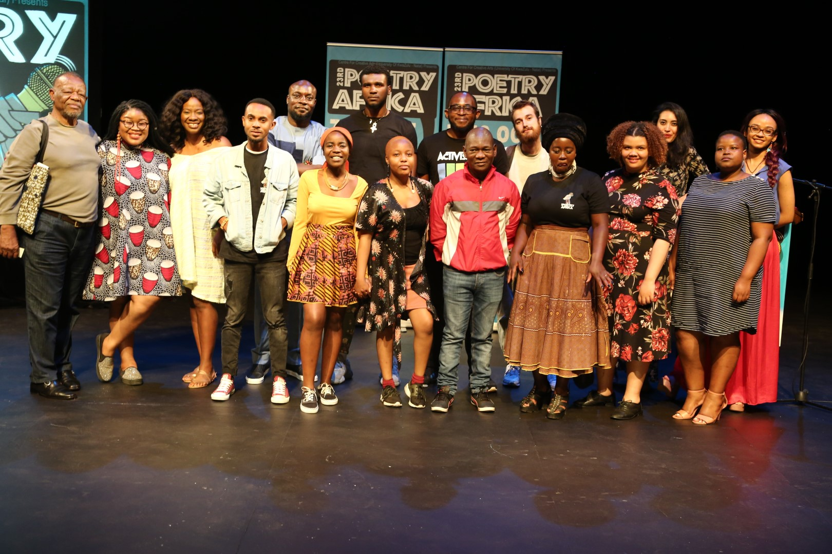 Highlights from Poetry Africa's opening night.